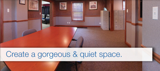 Wall Finishing Services : Commercial acoustical wall finishing systems great day